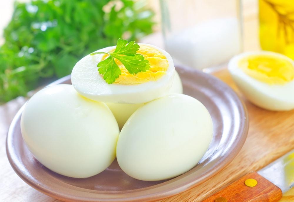 завтрак каша и яйцо при похудении