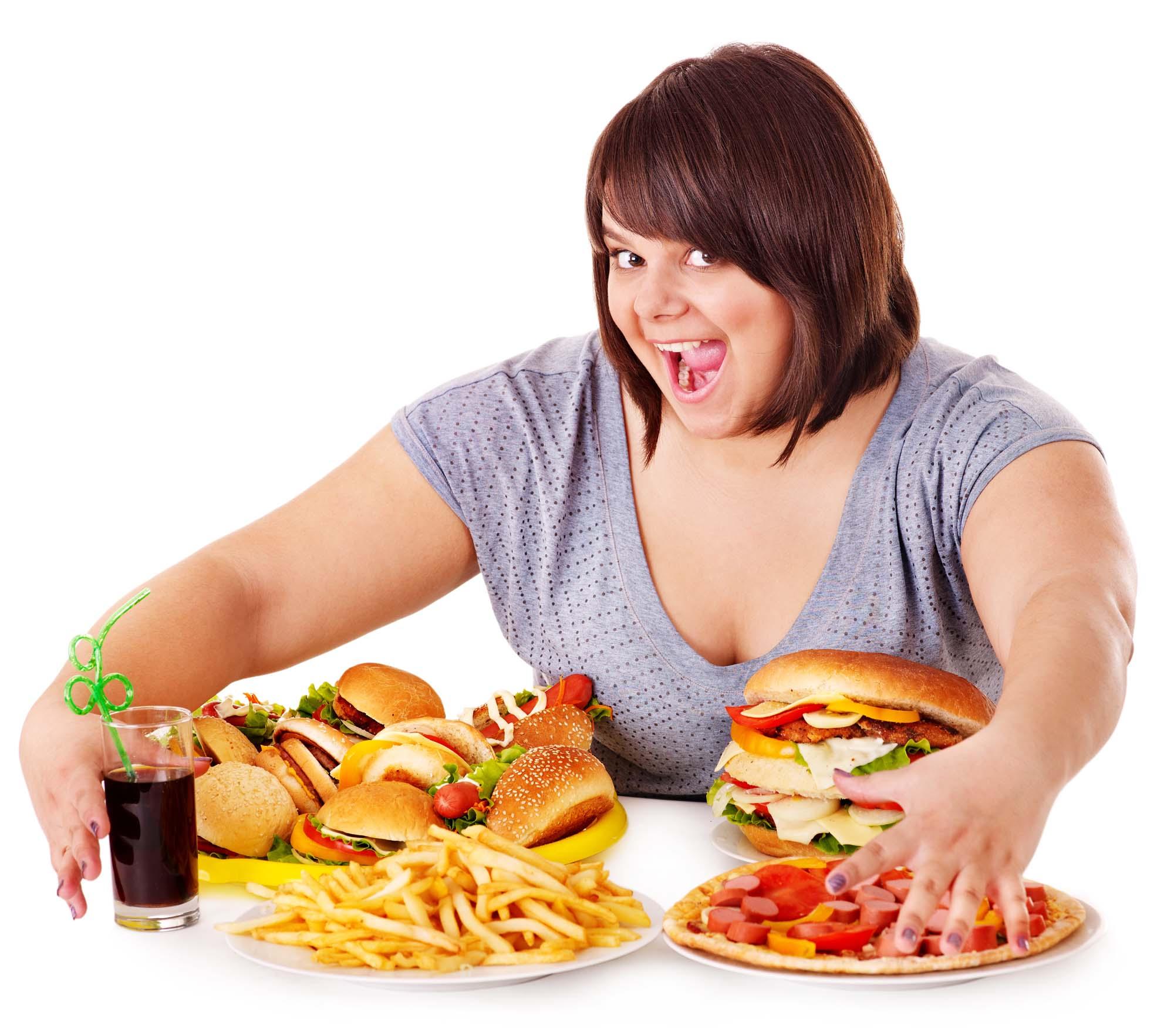 Как перестать есть много еды?