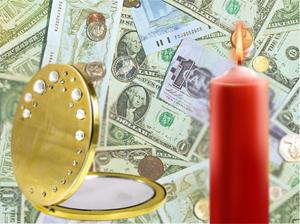 Зеркало и деньги