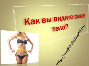 Как вы видите свое тело