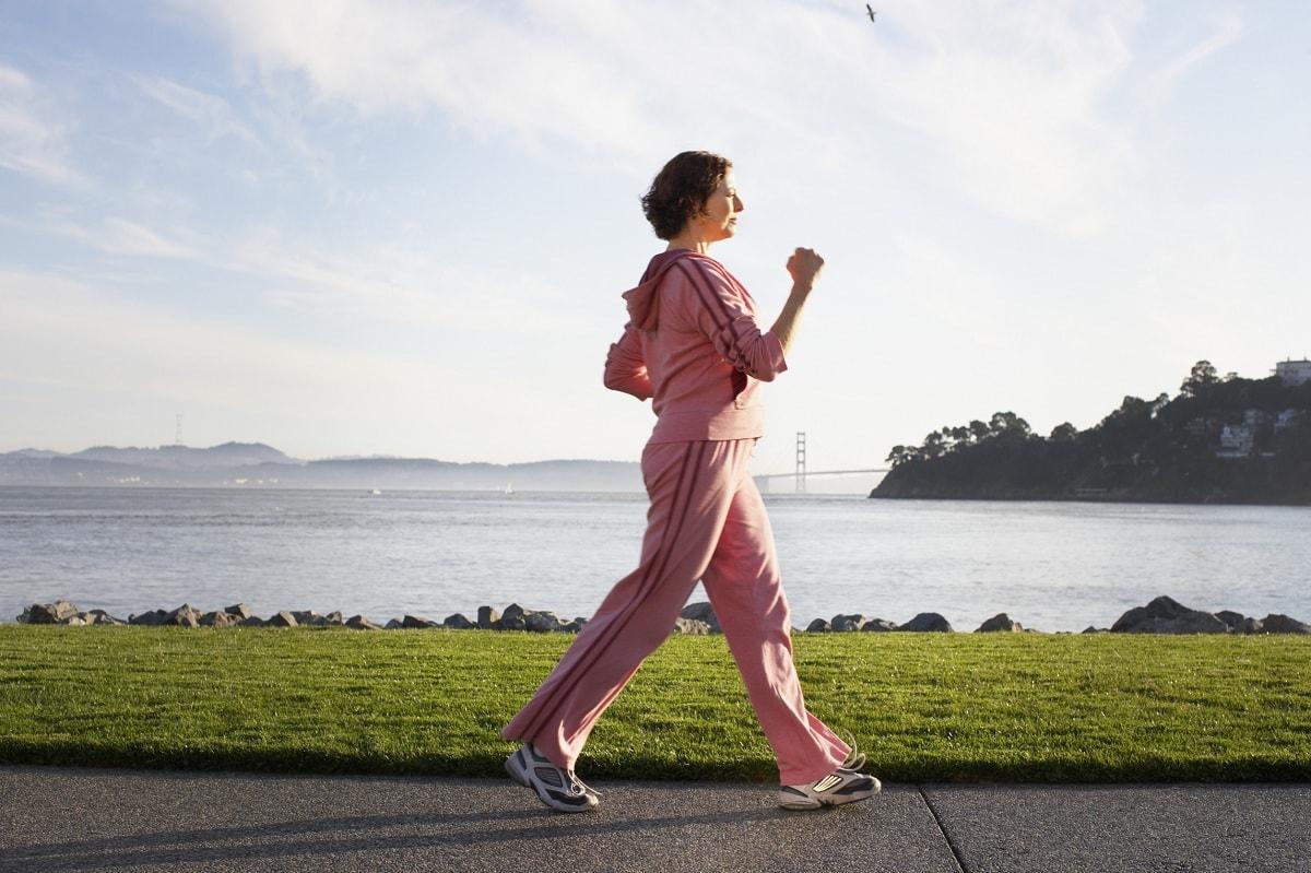 Ходьба пешком для похудения