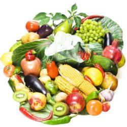 Крахмалистые и некрахмалистые овощи – таблица