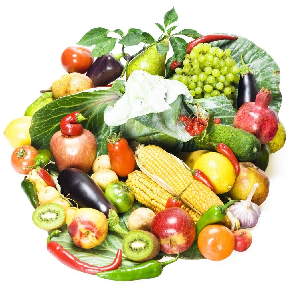 меню овощи и белок