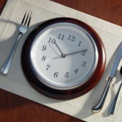 Какое должно быть правильное питание по часам?