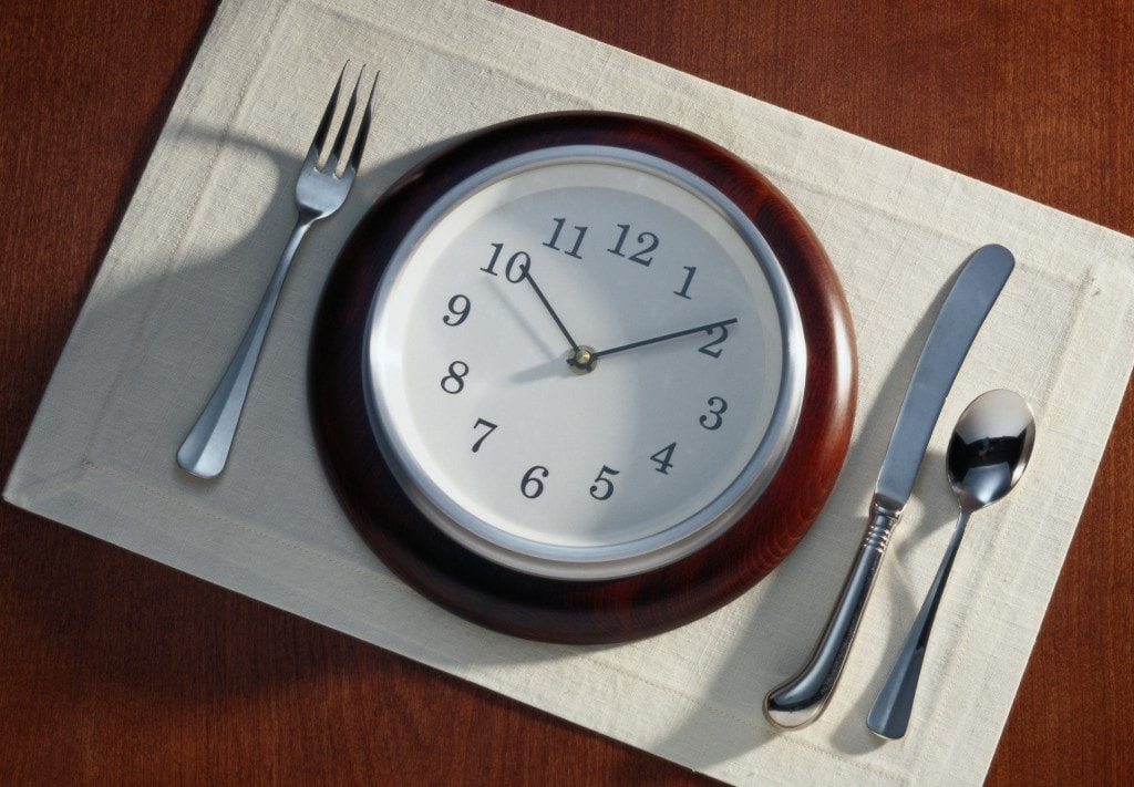 Часы приема пищи при правильном питании
