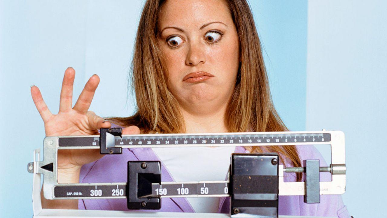 Почему вес возвращается